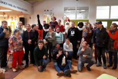 Deelnemers Ron en Sinterklaas